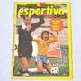 Autógrafo Zico Seleção Brasil Revista Manchete Futebol 1978