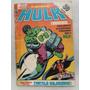 Marvel O Incrível Hulk Número #6 Abril Formatinho 1983 Raro