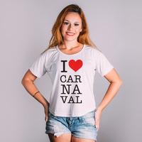 CROPPED BRANCO - LOVE CARNAVAL