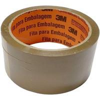 Fita Adesiva 3M para Embalagem Marrom 45mm x 45m