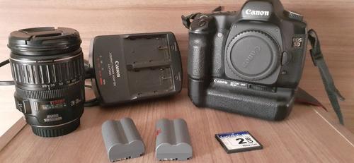 Canon 5d Clássica + Lente 28-135mm Stabilized Original