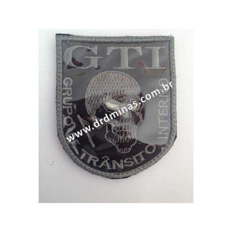 Patch / Distintivo Bordado GTI - II
