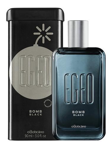 Egeo Desodorante Colônia Bomb Black 90ml Original