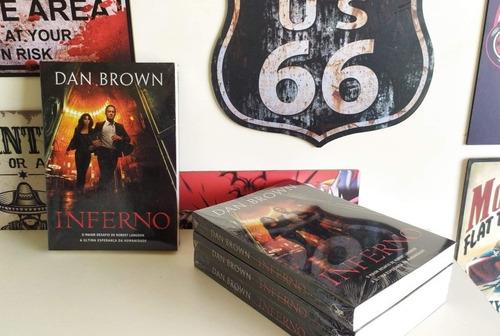 Livro Inferno Dan Brown ( Lacrado ) Original