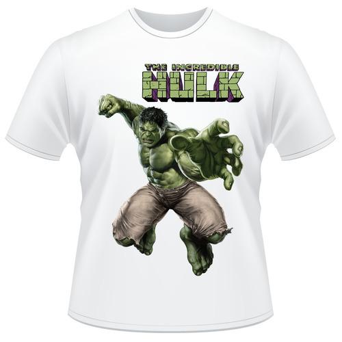 Camisa Infantil Hulk Avengers - Vingadores