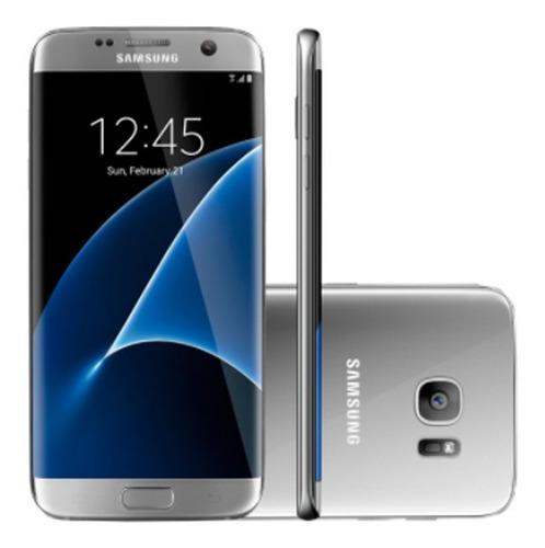 Samsung Galaxy S7 Edge 32 Gb Prata-titânio 4 Gb Ram Original