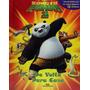 Livro Infantil Kung Fu Panda 3 C/ Cenário E 12 Miniaturas