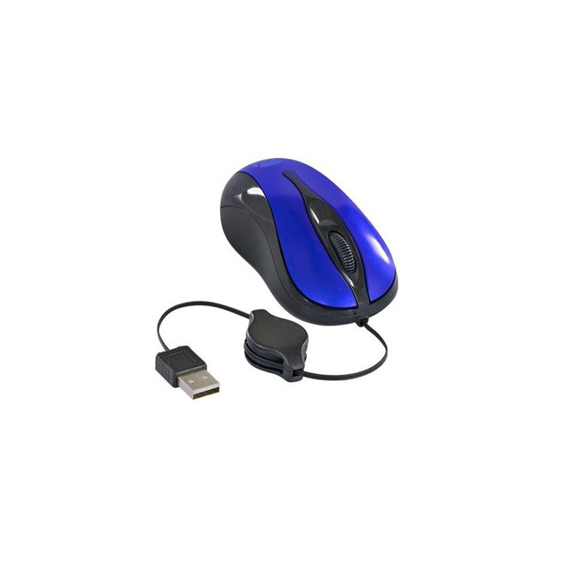 Mouse Vinik MR40 USB 800 DPI Preto/Azul