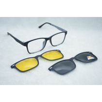 Busca Armação Oculos Grau 2 Clip On Ts622 C2 Preto Cinza Polarizad a ... b1d6221f0d