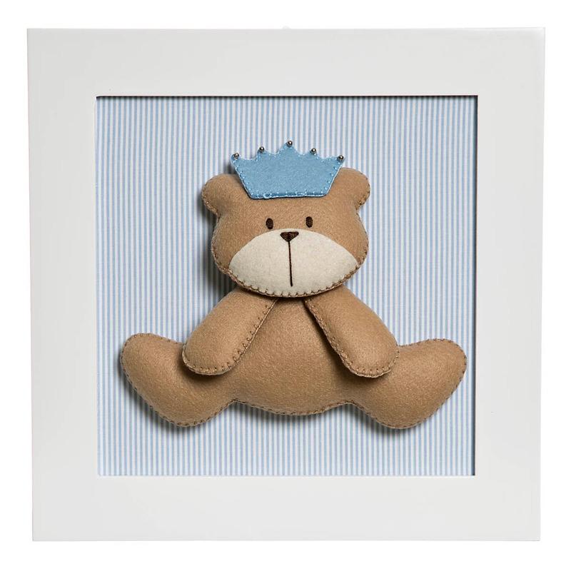 Quadro Decorativo Urso Principe