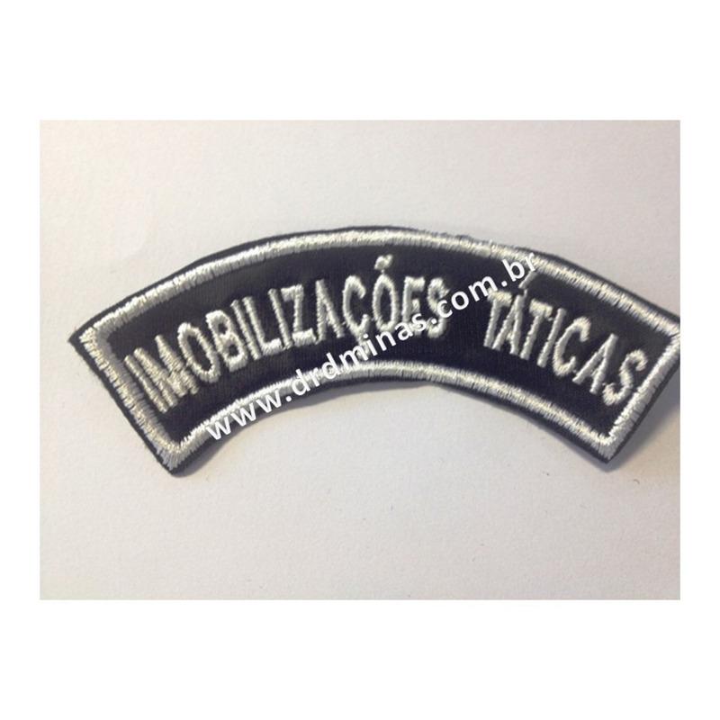 Patch / Distintivo Bordado Imobilizações Táticas - U