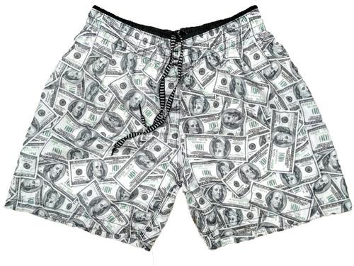 5 Shorts Praia Bermuda Masculino 5 Short Tactel Verão Ww Original