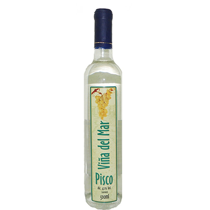 Licor Viña Del Mar Pisco 500ml - Santa Cecília
