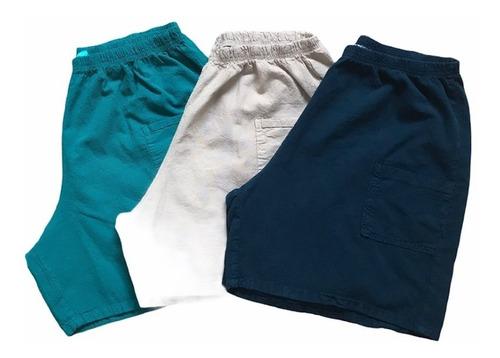 Kit 3 Shorts Feminino Plus Size Oferta Promocional Original