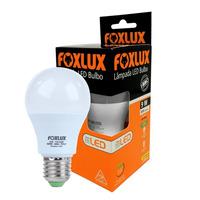 Lâmpada Led bulbo certificada A60 9W 3000k bivolt-Foxlux