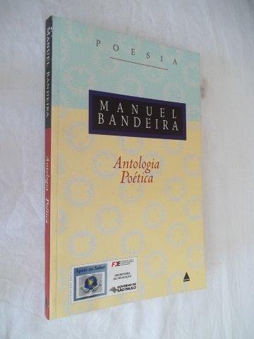Livro  Manuel Bandeira - Antologia Poetica - Poesia Original