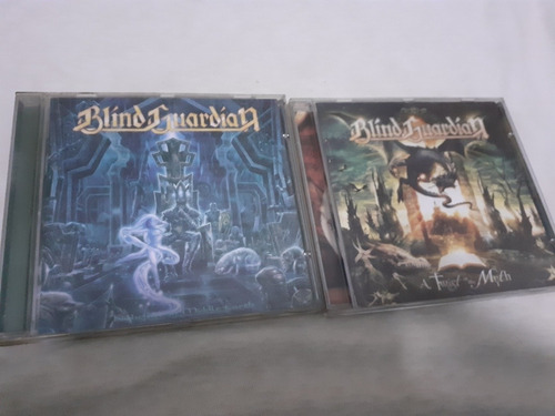 Blind Guardian Lote 2 Cds Twist Muth Nightfall Middle Metal Original