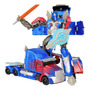 Boneco Transformers Optimus Prime Escudo Azul Voyager 19cm