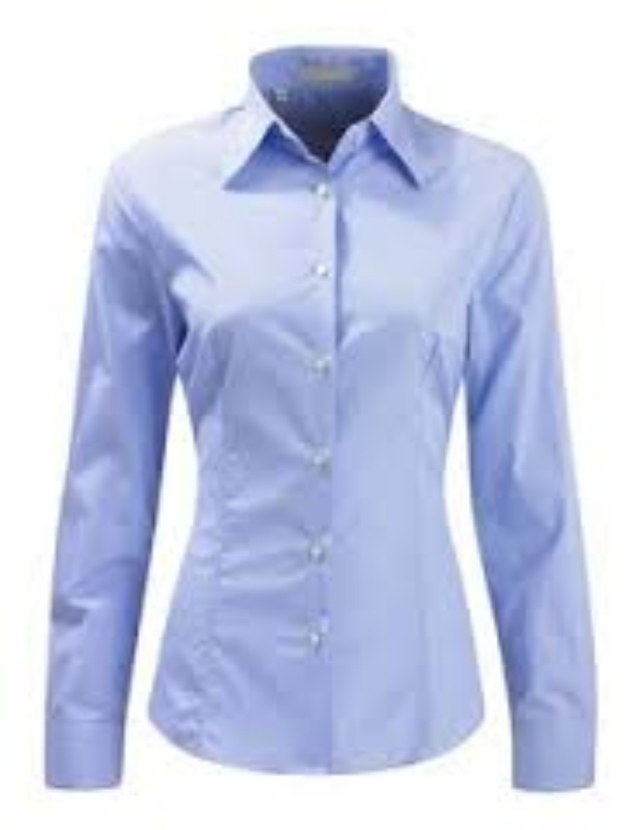 Camisa feminina básica manga comprida