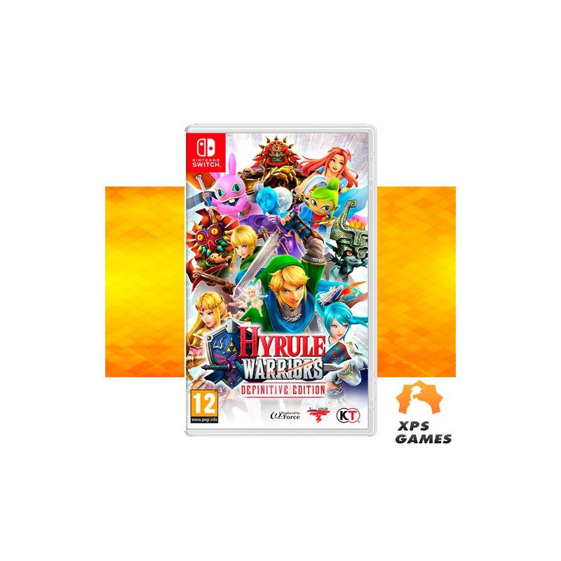 Jogo Hyrule Warriors Definitive Edition - Switch