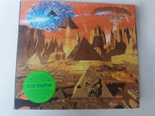 Cd Gamma Ray Blast From The Past Duplo Digipack Alemão Original