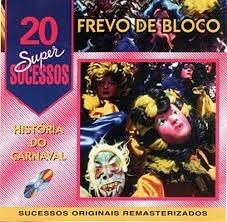 Cd Frevo De Bloco 20 Supersucessos Original
