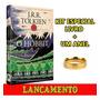 Livro O Hobbit Com Capa Feita Por Tolkien Um Anel Brinde