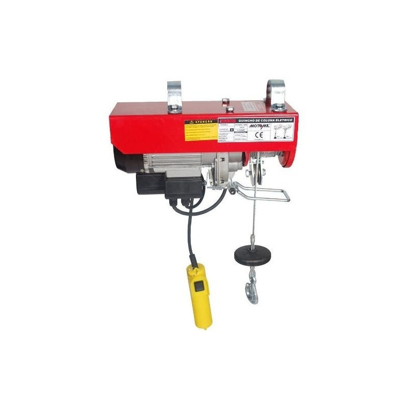 Guincho Motomil Coluna Elétrica HA-107 500/1000Kg 60Hz 220V