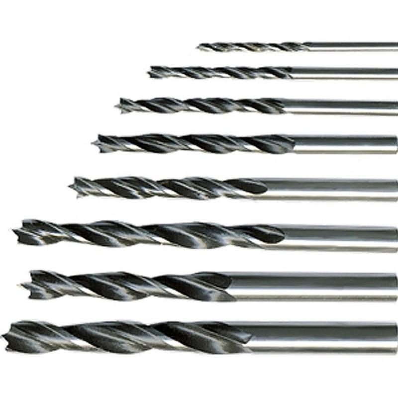 Kit Brocas de 3 Pontas para Madeiras 3 a 10mm - 702125 - Sparta