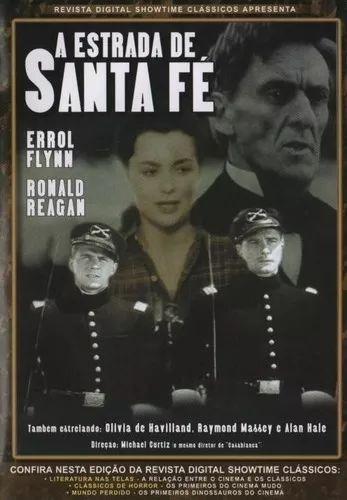 Dvd A Estrada De Santa Fé - Errol Flynn Ronald Reagan - Novo Original