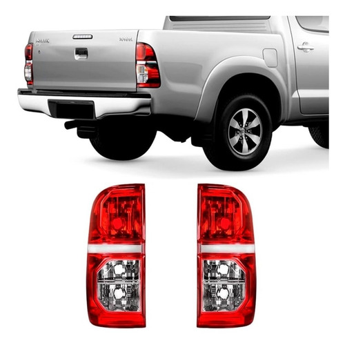 Lanterna Traseira Hilux Pick Up  2012 2013 2014 2015 Ld Original