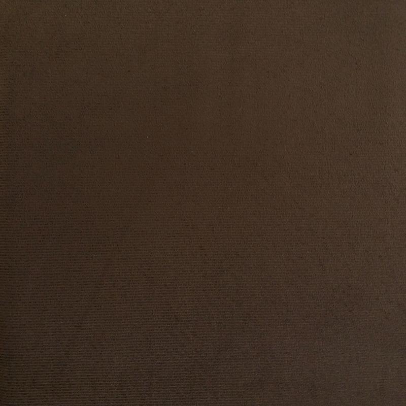 Tecido suede veludo café Larg. 1,40 m
