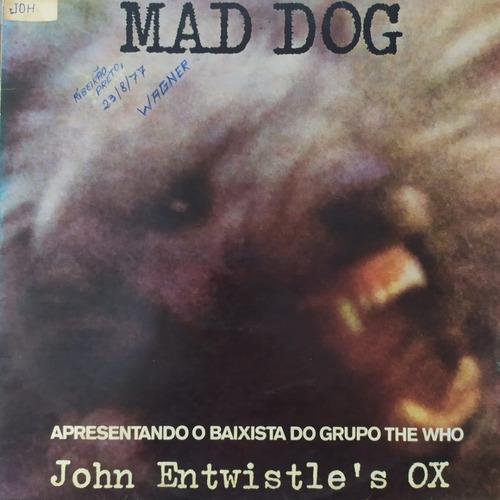 Lp Mad Dog John Entwistle The Who Ox Exx Estado Original
