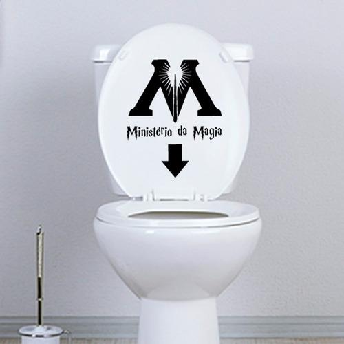 Harry Potter Adesivo Decorativo Banheiro E Vaso Sanitário