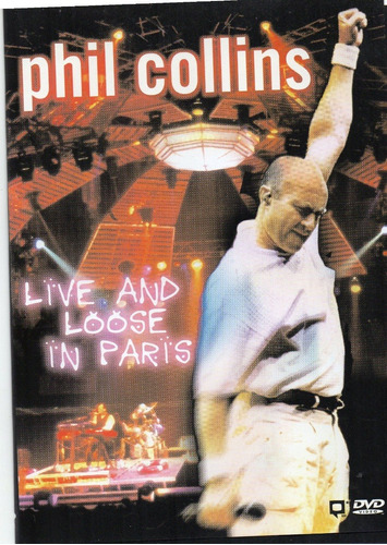Phil Collins Live And Loose In Paris Dvd 100% Original