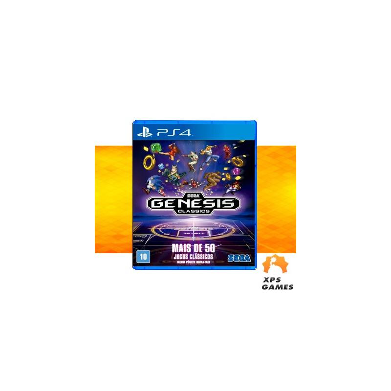 Jogo Sega Genesis Classics - PS4
