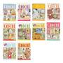 10 Revistas Crochê Banheiros Cozinhas Lote 1