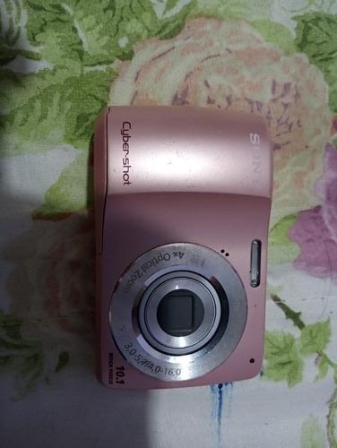 Maquina Fotografica Cybershot Cor De Rosa Original