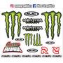 Cartela Adesivo Moto, Motocross, Freestyle.