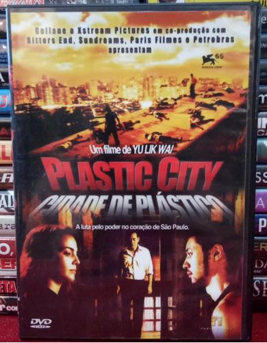 Dvd Plastic City - Cidade De Plástico * Original