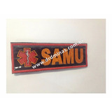 Etiqueta Bordado SAMU - U  15 x 5