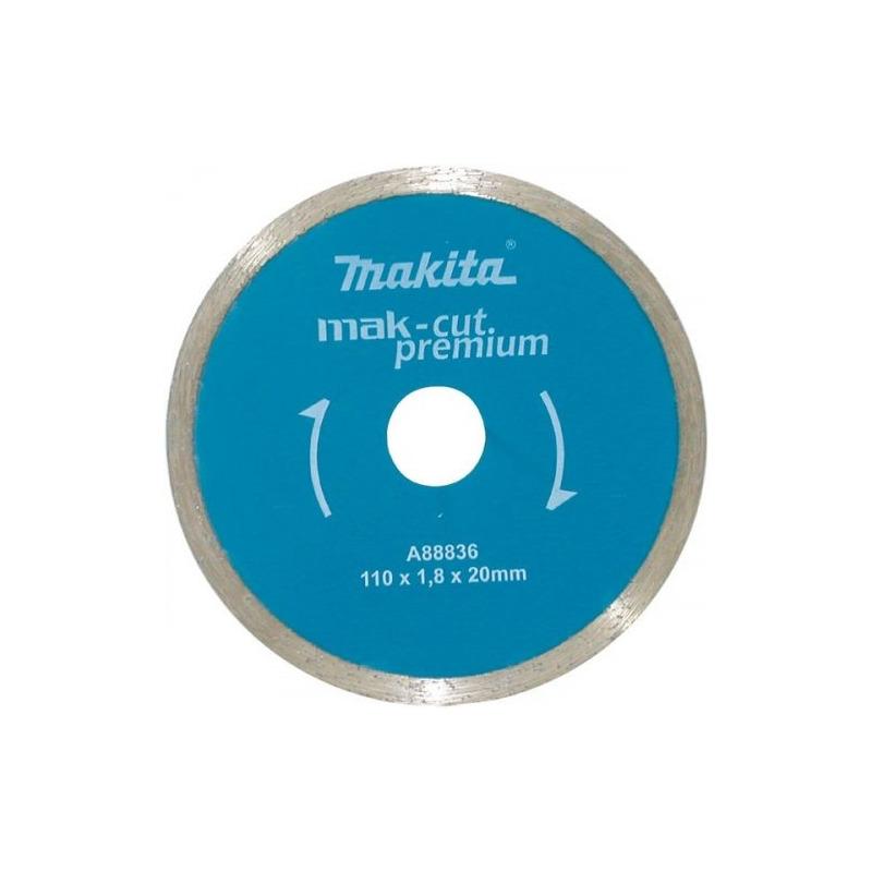 Disco Diamantado Liso 110mm Makita Mármore/Granito a Água