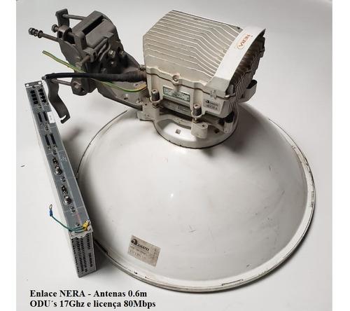 Radio Enlace Nera Evolution - 18ghz Completo 80mbps Original
