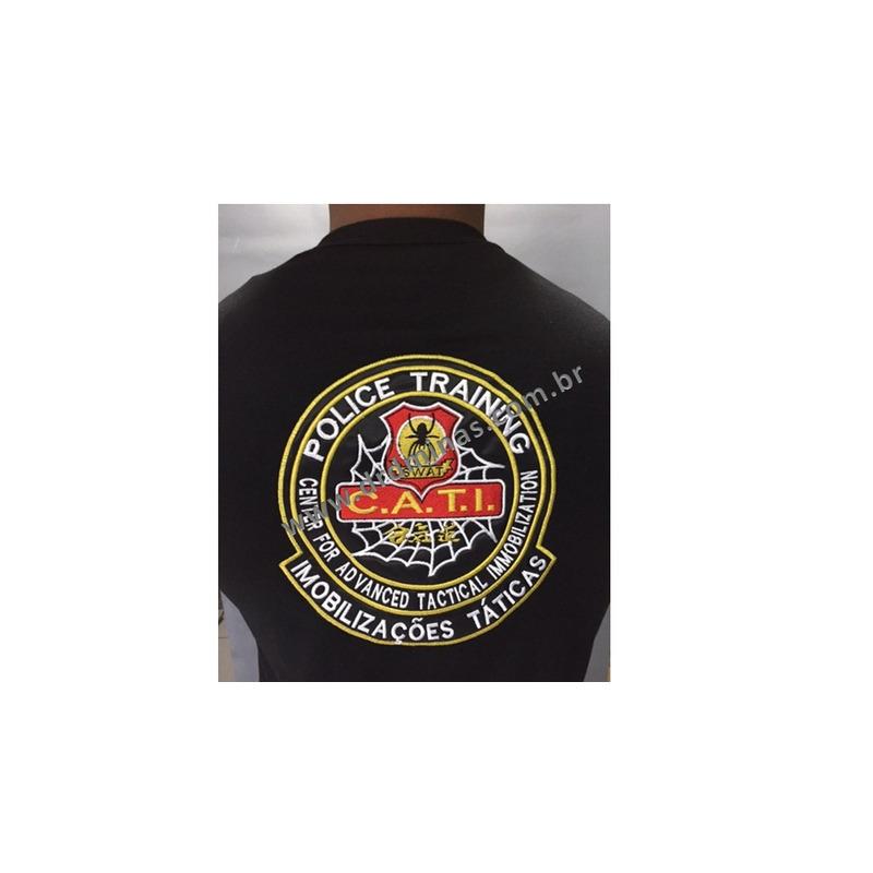 Camisa CATI SWAT - Preta  Bordada
