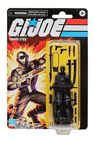 G.i Joe Retro - Snake Eyes - Hasbro E8857 Original