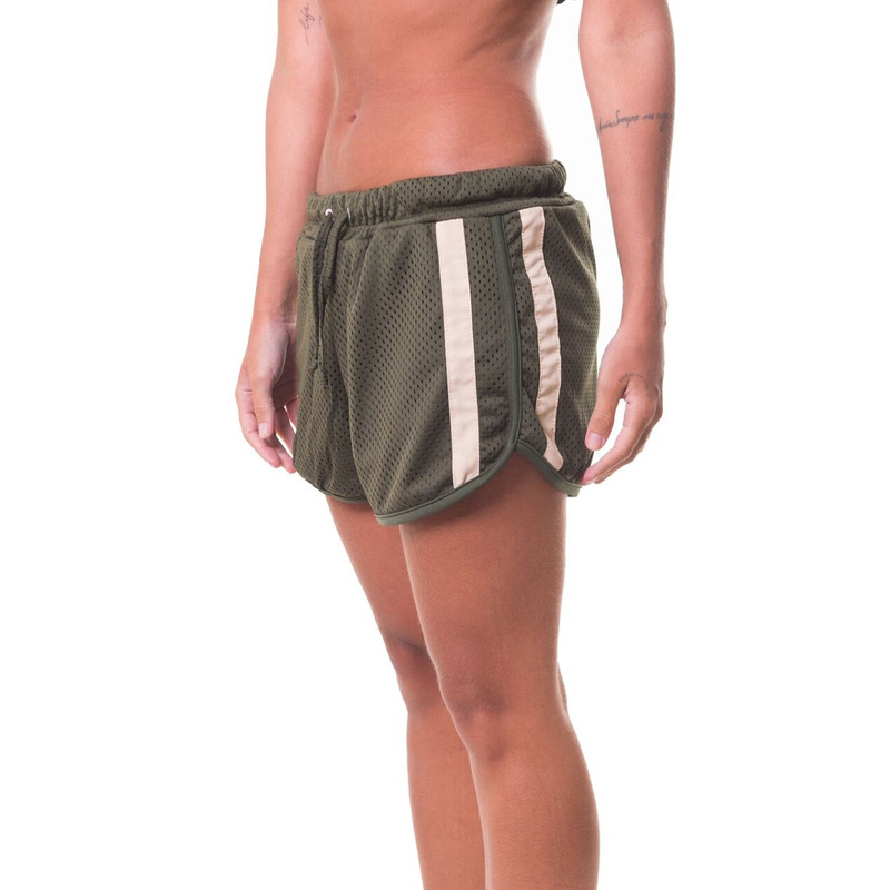 SHORTS APPROVE COLLEGE DINO VERDE MILITAR