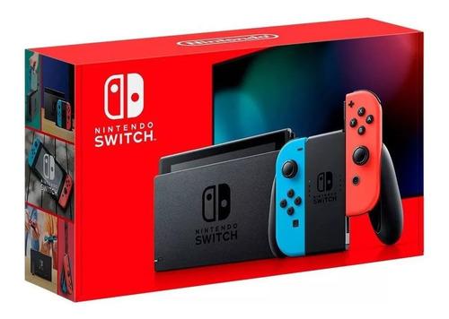 Console Nintendo Switch Bateria Estendida Envio Já Original
