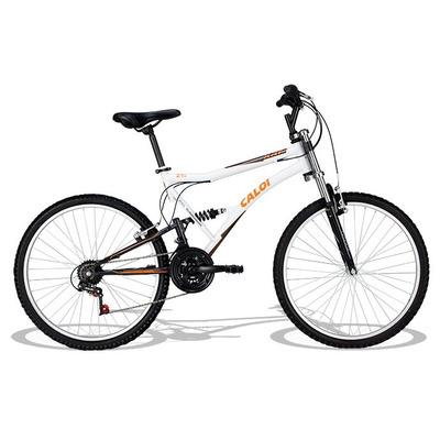 Bicicleta Aro 26 Xrt C/quadro/garfo De Amort 21v Bco - Caloi em Venâncio Aires