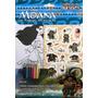 Livro Moana Colorindo Com Adesivos E Lapis De Cor