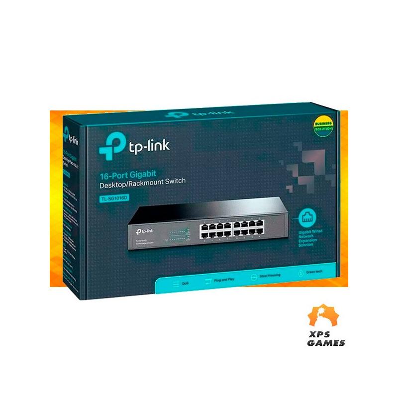 Roteador Tp-link Gigabit 16 Portas - SG1016D